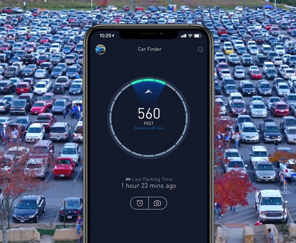 Automatic Car Finder