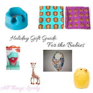 All Things Lovely Holiday Gift Guide for Baby Featuring Oliver + Kit Roar Muslin Swaddle Duo with Purple Tigers and Blue Lions