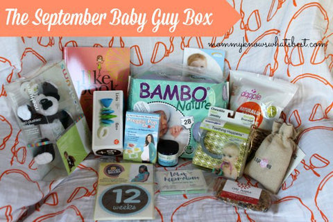 Mommy Knows What's Best September #babyguybox review featuring Oliver + Kit muslin Swaddle blankets