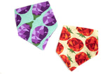 Veggie Might | Cotton Kerchief Bibs | 2 Pack - Oliver + Kit
