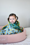 The Bees Knees | 8-Layer Cotton | Reversible Cuddle Blanket - Oliver + Kit