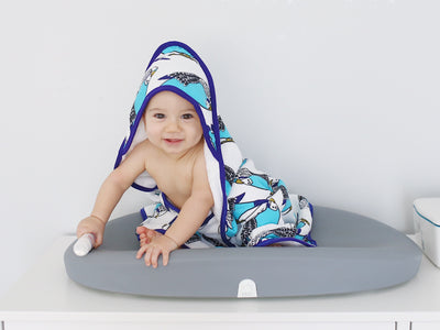 Birds of a Feather | Baby Towel + Washcloth Set - Oliver + Kit