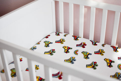Wheels | Bamboo Blend Crib Sheet - Oliver + Kit