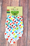 Chillin' With My Gnomies | Cotton Kerchief Bibs | 2 Pack - Oliver + Kit