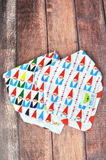 Chillin' With My Gnomies | Cotton Kerchief Bibs | 2 Pack