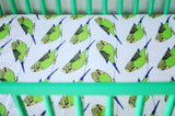 A Little Birdie Told Me | Cotton Crib Sheet - Oliver + Kit