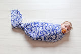 Water Wonder | Bamboo Blend Single Swaddle - Oliver + Kit