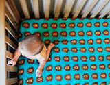 Roar | Cotton Crib Sheet