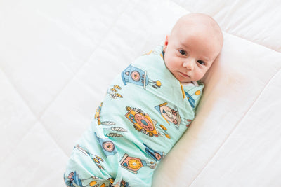 Cuckoo Time | Bamboo Blend Single Swaddle - Oliver + Kit