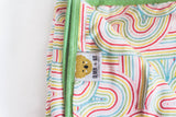 Roller Rainbow | 8-Layer Bamboo Blend | Reversible Cuddle Blanket