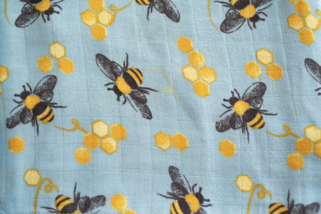 Save The Bees | Baby-Big Kid Towel + Washcloth Set
