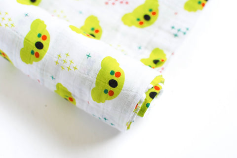Koala Signature | Cotton Single Swaddle - Oliver + Kit