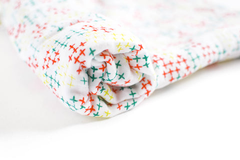 Pluses Signature | Cotton Single Swaddle - Oliver + Kit