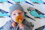 Birds of a Feather | Cotton Single Swaddle - Oliver + Kit