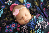 Pocketful of Posies | Bamboo Blend Swaddle Duo - Oliver + Kit