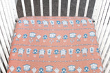 Tick Tock | Bamboo Blend Crib Sheet - Oliver + Kit
