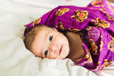 Eye of the Tiger | Cotton Single Swaddle