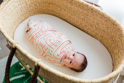 Rainbow Connection | Bamboo Blend Single Swaddle - Oliver + Kit