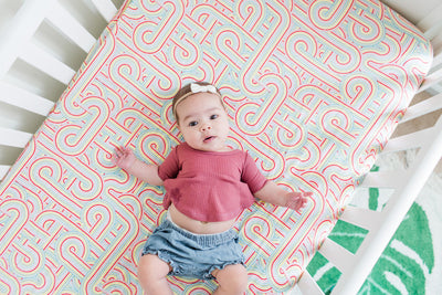 Rainbow Connection | Bamboo Blend Crib Sheet - Oliver + Kit