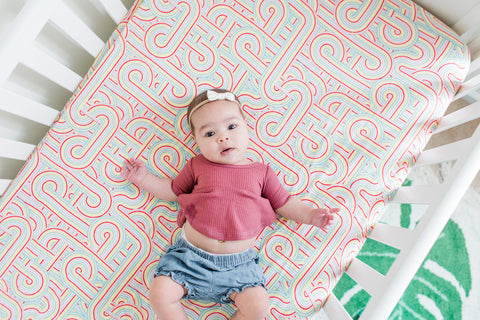 Rainbow Connection | Bamboo Blend Crib Sheet