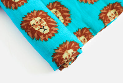 Roar | Cotton Single Swaddle - Oliver + Kit