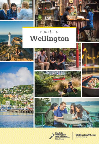 Study in Wellington arrival guide - Vietnamese