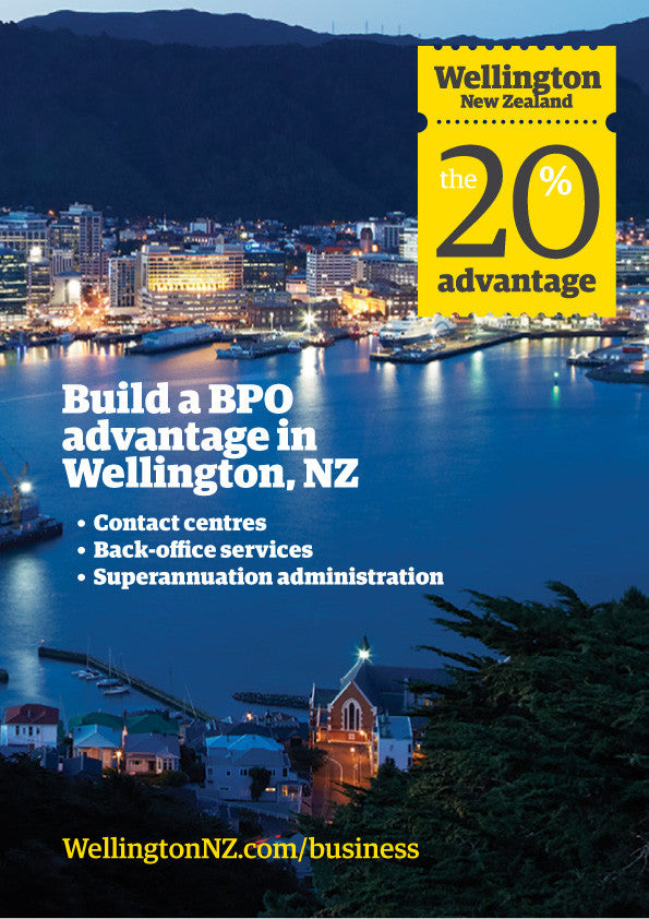 Build a BPO advantage in Wellington - booklet
