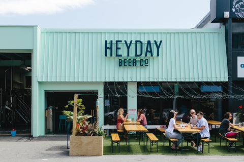 HeyDay Beer Co Exterior