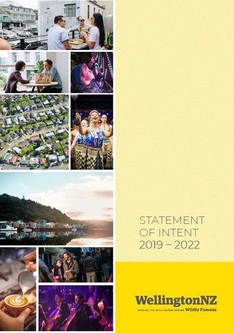 Statement of Intent 2019 – 2022