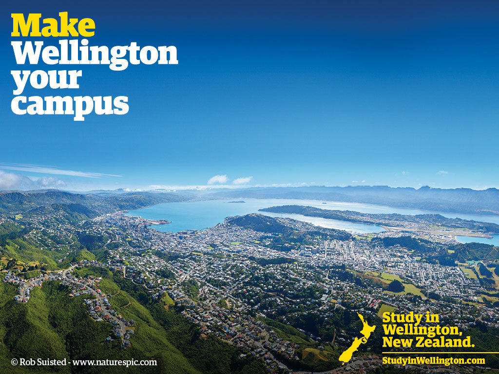 Make Wellington your Campus - image