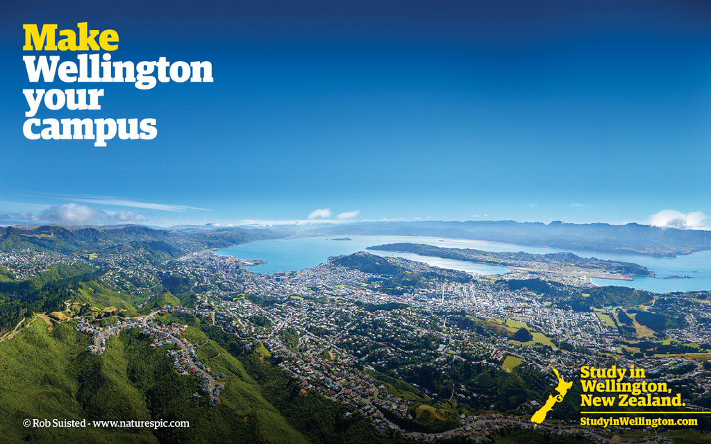 Make Wellington your Campus - wide image