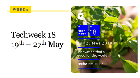 Techweek'18 in Wellington