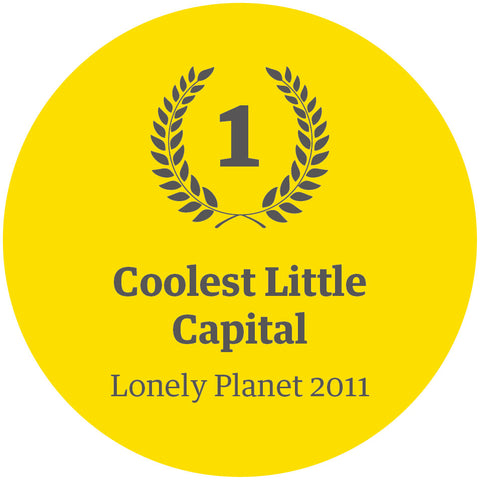 Infographic - Lonely Planet 2011 - Coolest Little Capital