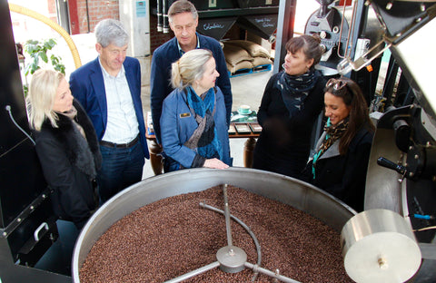 Coffee Roasting at Mojo