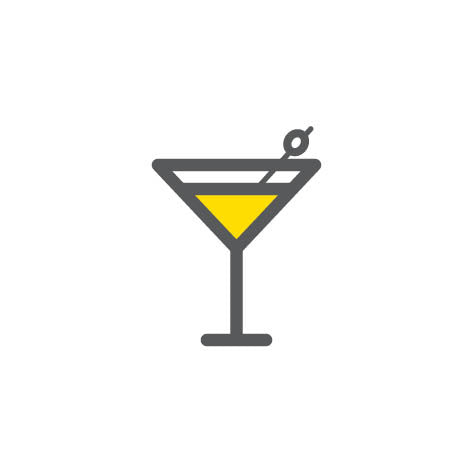 Cocktail brand icon