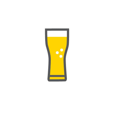 Craft beer brand icon