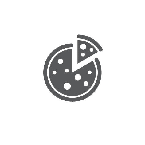 Pizza brand icon