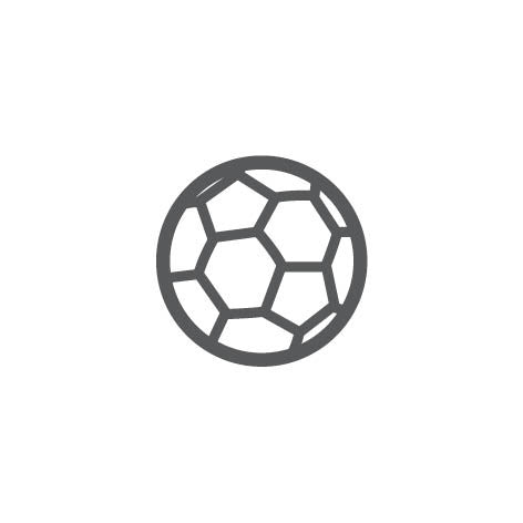 Soccer ball brand icon