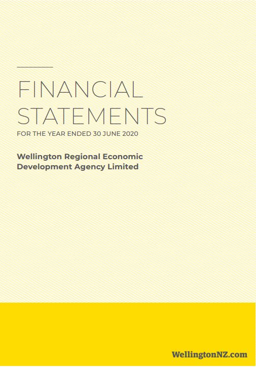 WellingtonNZ Financial Statements 2019-20