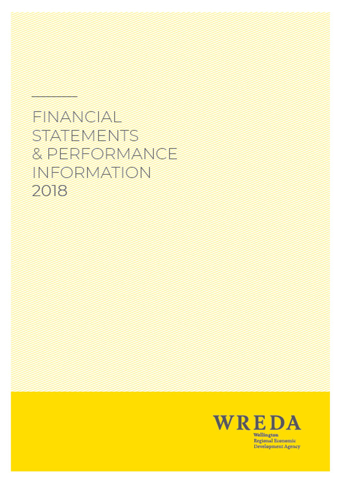 WREDA Financial Statements and Performance Information 2017-18