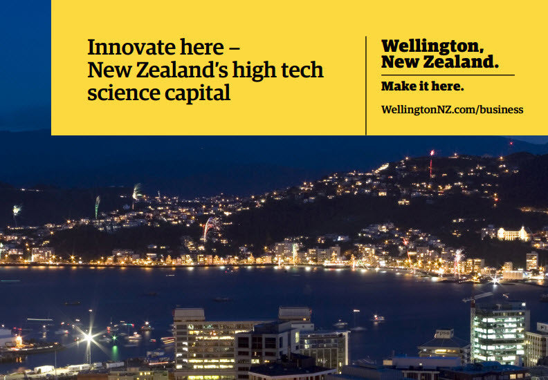 Innovate here - New Zealand's high tech science capital - booklet