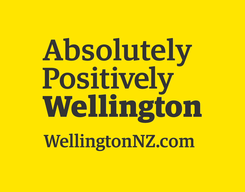 Absolutely Positively Wellington logo - CMYK