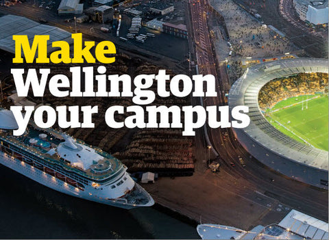 Make Wellington your campus brochure - English