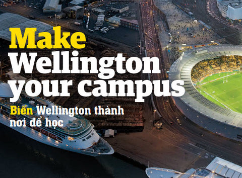 Make Wellington your campus brochure - Vietnamese