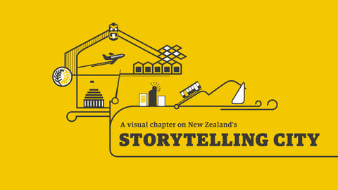 A visual chapter on New Zealand's Storytelling City - video