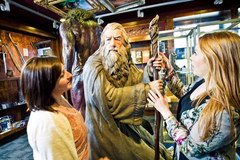 Gandalf at the Weta Cave
