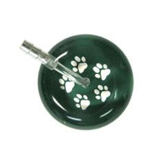 UltraScope Cardiology Stethoscope Paw Prints Green