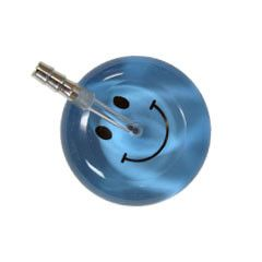 UltraScope Cardiology Stethoscope Smiley Face Light Blue