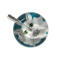 UltraScope Cardiology Stethoscope Cat Face Teal