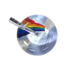 UltraScope Cardiology Stethoscope Rainbow & Clouds